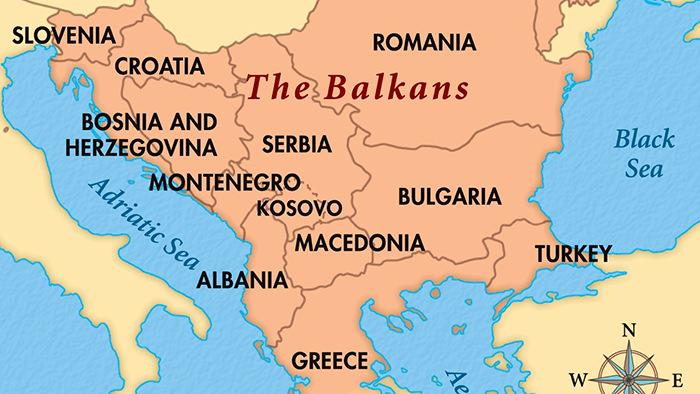 Resultado de imagem para picture of the BAlkans